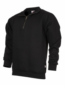 uniwear zipneck band sweater